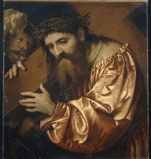 'Christ Carrying the Cross Girolamo Romano